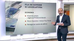 El pla del govern Puigdemont