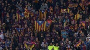La celebració del Barça a la gespa
