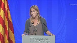 El govern català valora l'escenari de judici del 9N