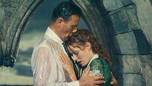 "John Wayne i Maureen O'Hara a ""L'home tranquil""."