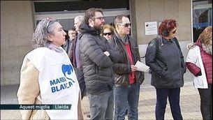 Protestes als hospitals contra les llistes d'espera
