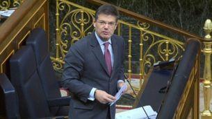 """El ministre de Justícia respon a Carles Campuzano que el llaç groc és """"ofensiu"""""""