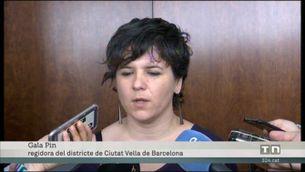 Declaracions de Gala Pin sobre el tancament de 46 establiments cannàbics il·legals