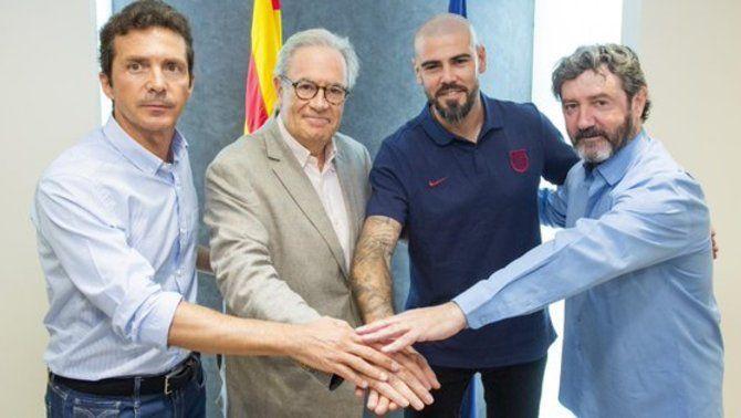 Víctor Valdés es converteix en el nou entrenador del Juvenil A del Barça