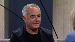 "Ferran Adrià: ""A mi no m'agrada ni menjar ni cuinar"""