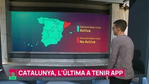 Planta baixa - Catalunya, l'última a tenir l'app Radar Covid