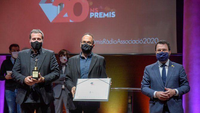 La Marató, guardonada en la 20a edició dels Premis de Ràdio Associació