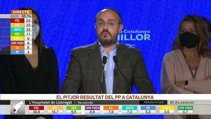 """Alejandro Fernández (PP): """"El nostre resultat és molt dolent"""""""