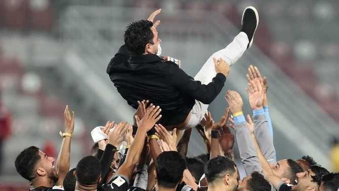 Xavi Hernández aconsegueix el cinquè títol des que entrena l'Al-Sadd, la Copa de Qatar