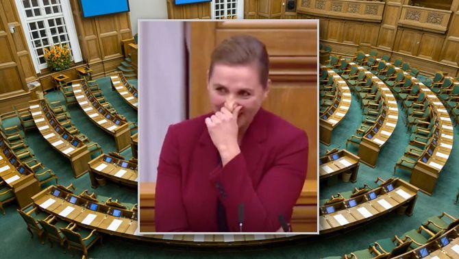 El Parlament de Dinamarca no es va riure ni de la monarquia espanyola ni de Catalunya