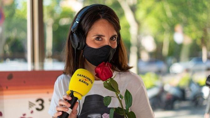 Sant Jordi a Catalunya Ràdio, en imatges
