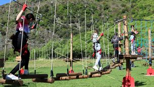 El Pallars Sobirà rep els primers grups d'escolars per fer activitats de natura des de l'inici de la pandèmia