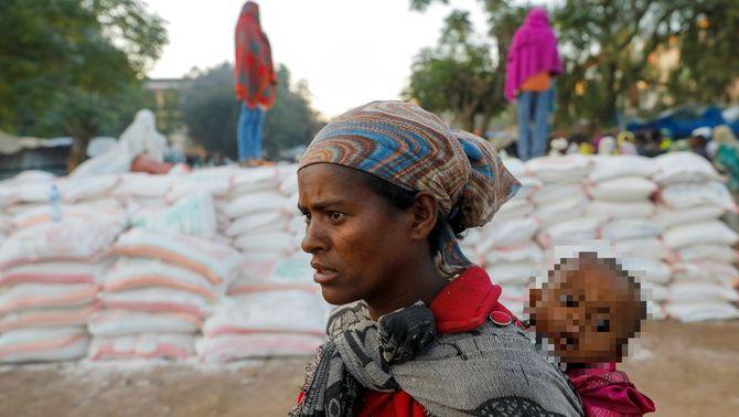 Denúncia de l'ONU: la fam torna a Etiòpia, ara com a arma de guerra