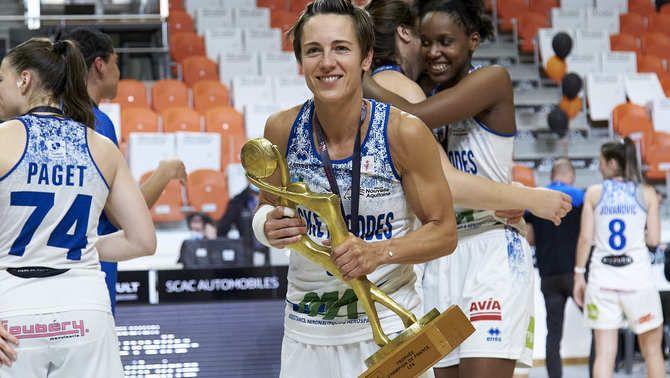 Céline Dumerc, excapitana de la selecció francesa de basquet