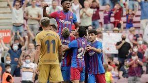 Ansu Fati retorna la il·lusió en la victòria del Barça al Llevant (3-0)