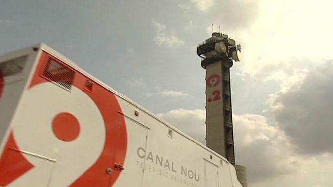 Un vehicle de Canal 9