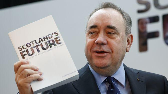 Salmond recorda que cap estat de la UE ha anunciat que vetaria l'entrada d'una Escòcia independent