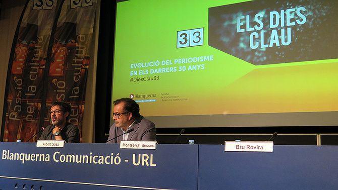 """L'Auditori Blanquerna de la Universitat Ramon Llul acull la presentació del programa """"Els dies clau"""""""