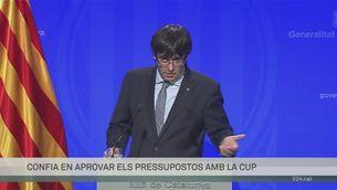 Declaracions de Carles Puigdemont