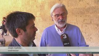 "Imatge de:Rodatge de la ""road movie"" de TV3 sobre la vida de Ramon Llull"