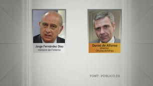 "Fernández Díaz: ""És un torpede sota la línia de flotació"""
