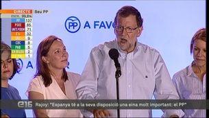 Rajoy reclama el dret a governar