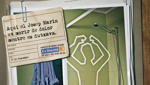 Cartell de La Marató 2006, dedicada al dolor crònic