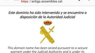 L'Assemblea reobre el web en un altre domini després que l'hi hagin tancat sense avís