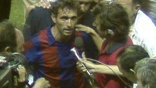 El futbol plora la mort de Quini