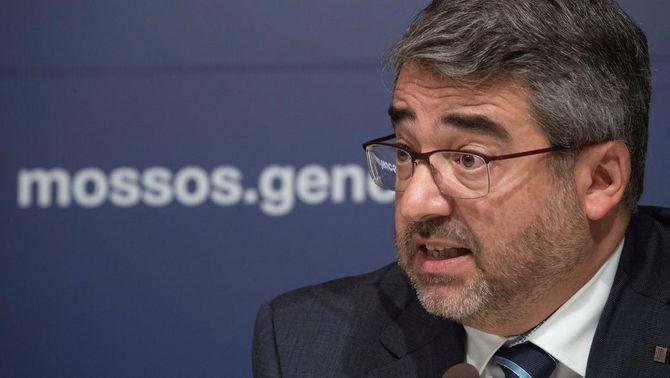 El director general dels Mossos, Andreu Martínez (EFE)