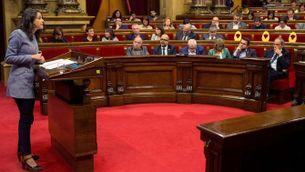 Inés Arrimadas al ple del Parlament