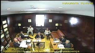 El vídeo íntegre de l'interrogatori de Torra al TSJC