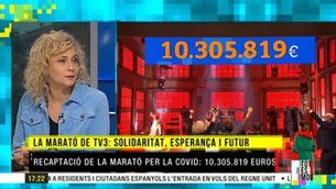 """Mònica Terribas: """"Els 10 milions de recaptació era la societat cridant: 'Científics, sisplau, ajudeu-nos a acabar amb aquest virus!'"""""""
