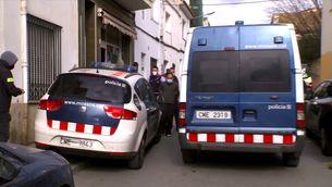 Grups anarquistes italians darrere del greu incident de la crema de la furgoneta de la Guàrdia Urbana