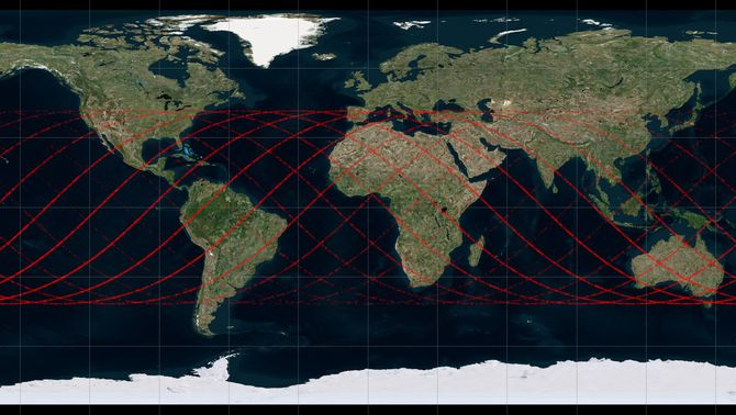 Seguiment del coet xinès Long March 5B que caurà a la Terra aquest cap de setmana