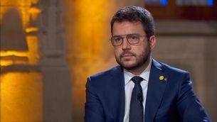"""Pere Aragonès: """"Només amb democràcia podem resoldre el conflicte polític"""""""