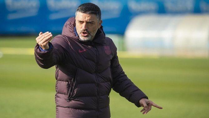 El Barça fa fora García Pimienta