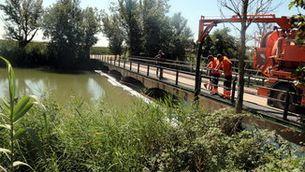 25 pobles del Segrià i les Garrigues, sense aigua potable per un vessament d'hidrocarbur