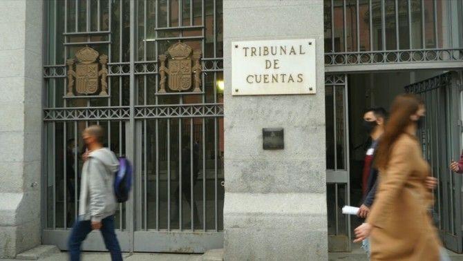 Façana del tribunal de comptes