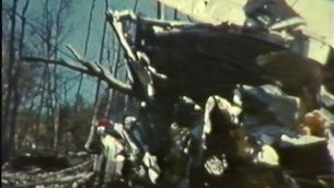 Apareixen imatges inèdites de l'accident aeri del Montseny del 1970