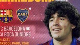 La Maradona Cup, el 14 de desembre a Riad