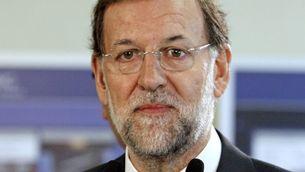 Rajoy ha fet aquestes declaracions en una visita al municipi d'Abadiño, a Biscaia. (Foto: EFE)