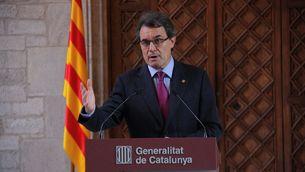 """El president de la Generalitat, Artur Mas ha dit que és """"la manera menys traumàtica"""" de ser ajudats"""