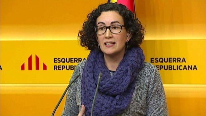 """Marta Rovira diu que hi havia l'amenaça de """"violència extrema"""" i """"morts al carrer"""""""