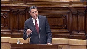 El líder del PPC, García Albio, s'estrena com a diputat al Parlament