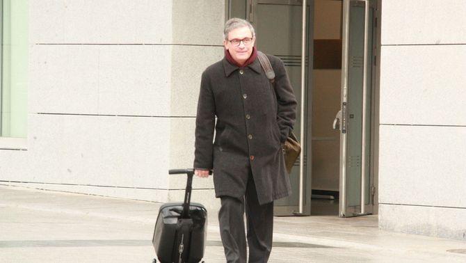 El fill gran de l'expresident Pujol, aquest dijous, entrant a l'Audiència Nacional (ACN)