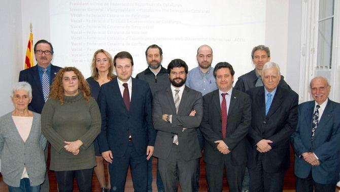 L'assemblea del Comitè Olímpic Català dóna suport unànime a la nova junta presidida per Gerard Esteva