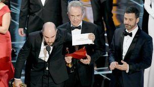 Final rocambolesc dels Oscars 2017