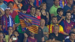 Iniesta i Busquets aixequen la Copa de campions