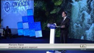 Rajoy tanca la convenció del PP orgullós de la seva gestió del procés independentista